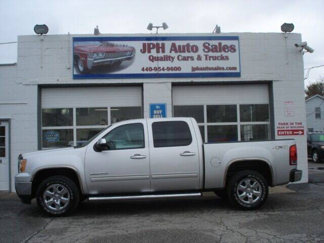 2011 GMC Sierra 1500 for sale at JPH Auto Sales in Eastlake OH