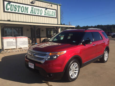 2011 Ford Explorer for sale at Custom Auto Sales - AUTOS in Longview TX