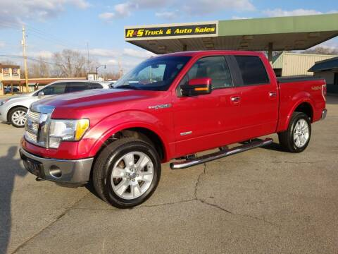 2012 Ford F-150 for sale at R & S TRUCK & AUTO SALES in Vinita OK