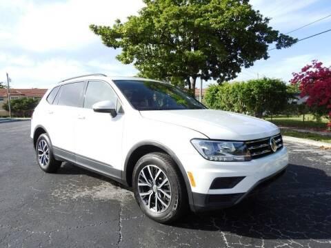 2019 Volkswagen Tiguan for sale at SUPER DEAL MOTORS 441 in Hollywood FL