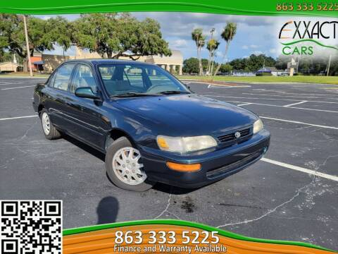 1997 Toyota Corolla for sale at Exxact Cars in Lakeland FL