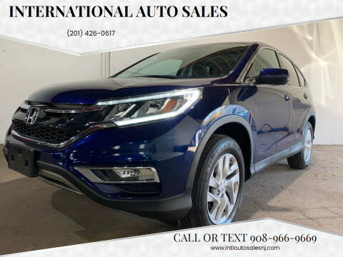 2015 Honda CR-V for sale at International Auto Sales in Hasbrouck Heights NJ