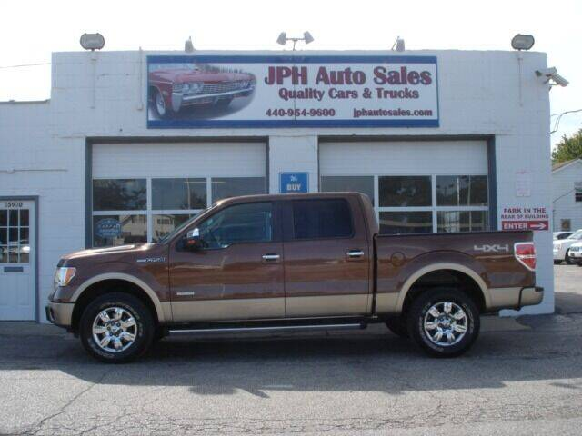 2011 Ford F-150 for sale at JPH Auto Sales in Eastlake OH