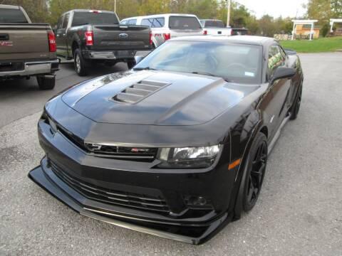 2015 Chevrolet Camaro for sale at WORKMAN AUTO INC in Pleasant Gap PA