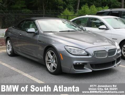 2014 BMW 6 Series for sale at Carol Benner @ BMW of South Atlanta in Union City GA