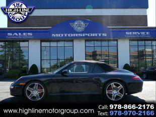2008 Porsche 911 for sale at Highline Group Motorsports in Lowell MA