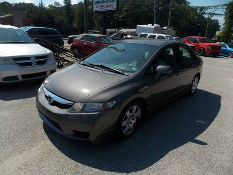 2010 Honda Civic for sale at Deer Park Auto Sales Corp in Newport News VA