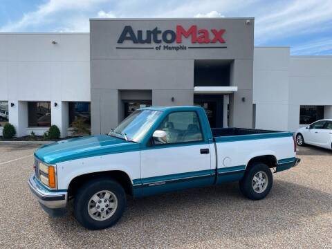 1993 GMC Sierra 1500 for sale at AutoMax of Memphis in Memphis TN