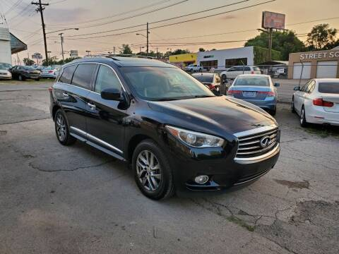 2014 Infiniti QX60 for sale at Green Ride Inc in Nashville TN
