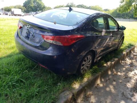 2012 Hyundai Elantra for sale at El Jasho Motors in Grand Prairie TX