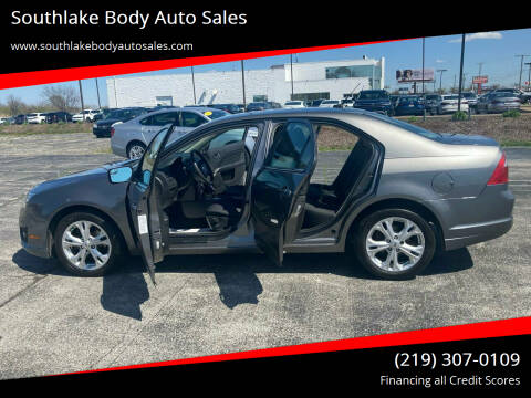 2012 Ford Fusion for sale at Southlake Body Auto Sales in Merrillville IN