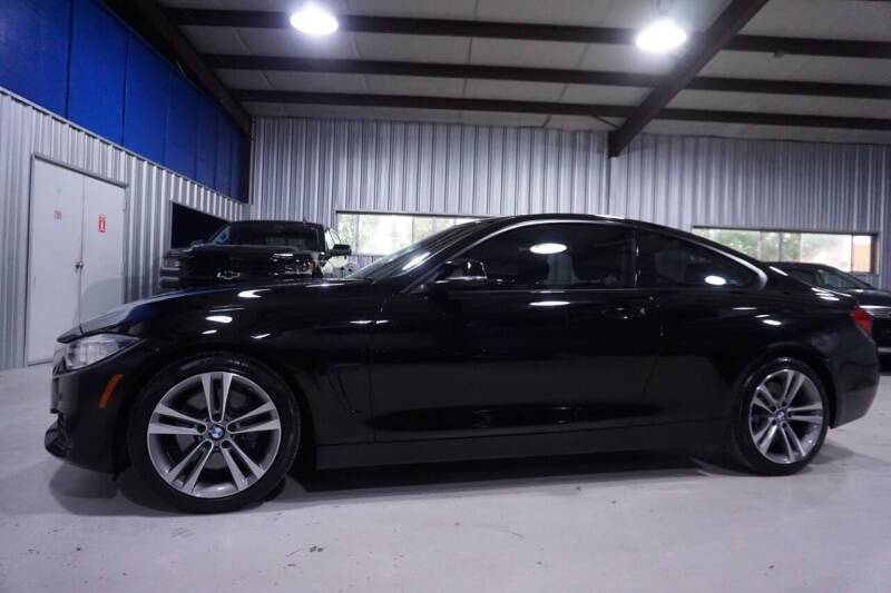 2015 BMW 4 Series for sale at SOUTHWEST AUTO CENTER INC in Houston TX