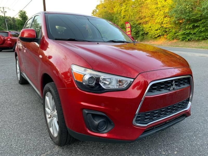 2014 Mitsubishi Outlander Sport for sale at D & M Discount Auto Sales in Stafford VA