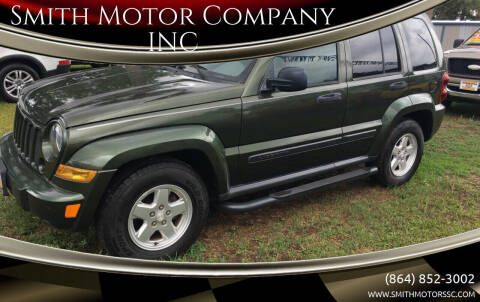 2007 Jeep Liberty for sale at Smith Motor Company INC in Mc Cormick SC