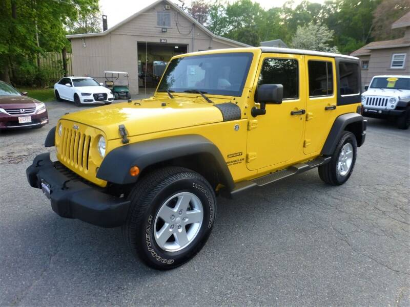 2015 Jeep Wrangler Unlimited for sale in Millbury, MA