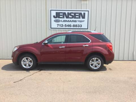 2011 Chevrolet Equinox for sale at Jensen's Dealerships in Sioux City IA