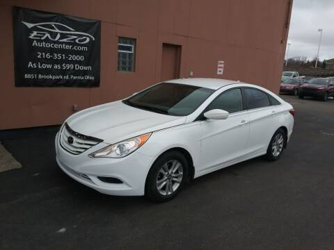 2012 Hyundai Sonata for sale at ENZO AUTO in Parma OH