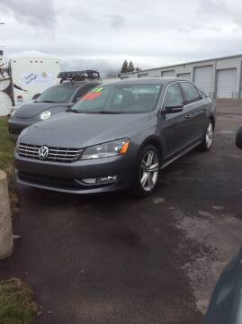 2013 Volkswagen Passat for sale at Atlas Automotive Sales in Hayden ID