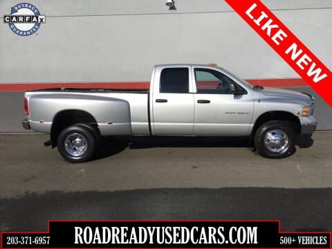 2003 Dodge Ram Pickup 3500 for sale at Road Ready Used Cars in Ansonia CT