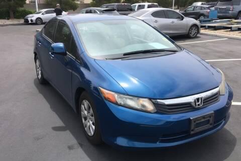 2012 Honda Civic for sale at Boktor Motors in Las Vegas NV