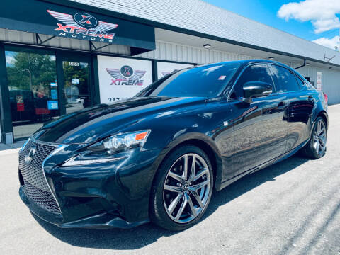 2015 Lexus IS 250 for sale at Xtreme Motors Inc. in Indianapolis IN