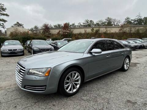 2012 Audi A8 L for sale at Car Online in Roswell GA