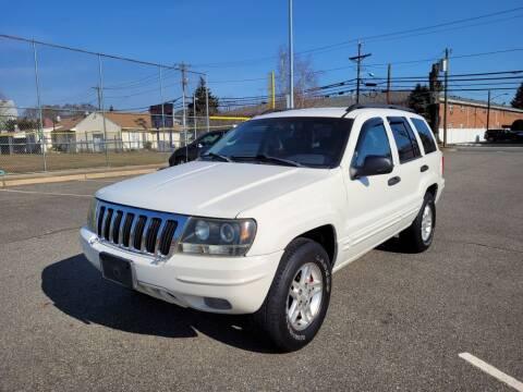 2002 Jeep Grand Cherokee for sale at Millennium Auto Group in Lodi NJ