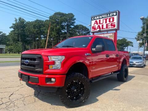 2016 Ford F-150 for sale at Carafello's Auto Sales in Norfolk VA