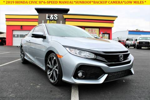 2019 Honda Civic for sale at L & S AUTO BROKERS in Fredericksburg VA