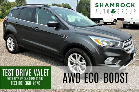 2018 Ford Escape for sale at Shamrock Group LLC #1 in Pleasant Grove UT