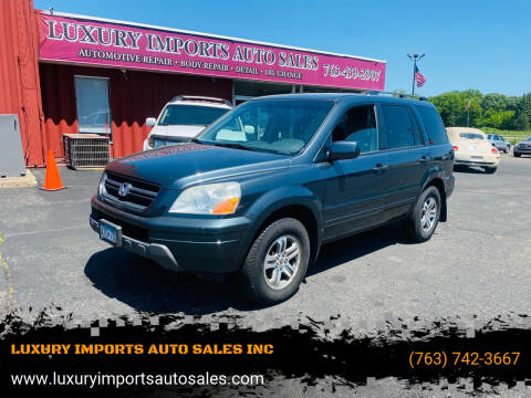 2004 Honda Pilot for sale at LUXURY IMPORTS AUTO SALES INC in North Branch MN