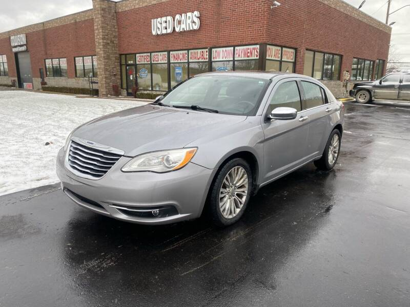 2013 Chrysler 200 for sale at My Town Auto Sales in Madison Heights MI
