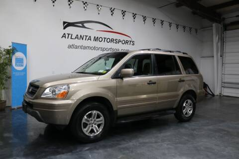2003 Honda Pilot for sale at Atlanta Motorsports in Roswell GA