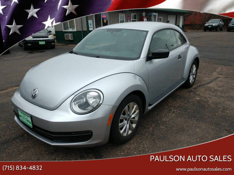 2014 Volkswagen Beetle for sale at Paulson Auto Sales in Chippewa Falls WI