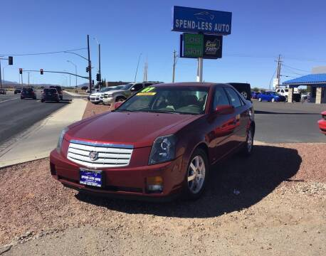 2007 Cadillac CTS for sale at SPEND-LESS AUTO in Kingman AZ