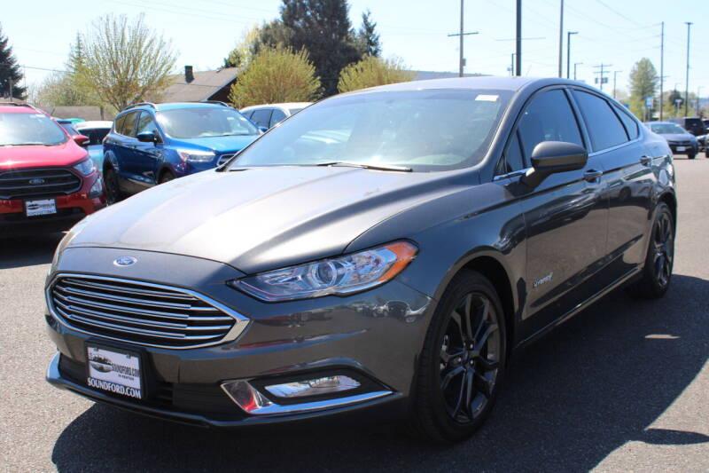 2018 Ford Fusion Hybrid for sale in Renton, WA