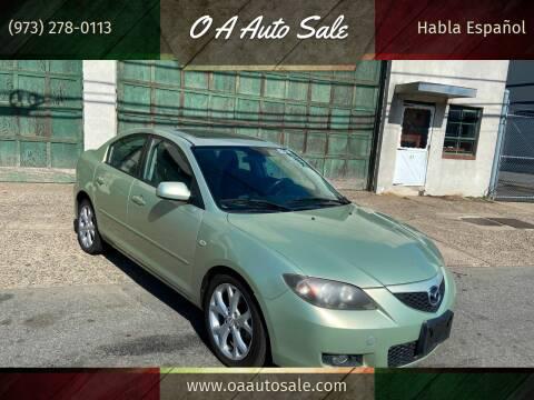 2008 Mazda MAZDA3 for sale at O A Auto Sale in Paterson NJ