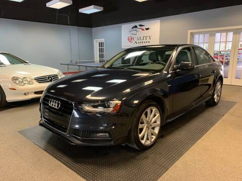 2014 Audi A4 for sale at Quality Autos in Marietta GA