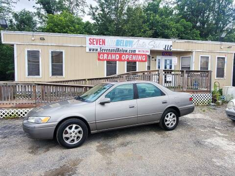 1998 Toyota Camry for sale at Seven and Below Auto Sales, LLC in Rockville MD