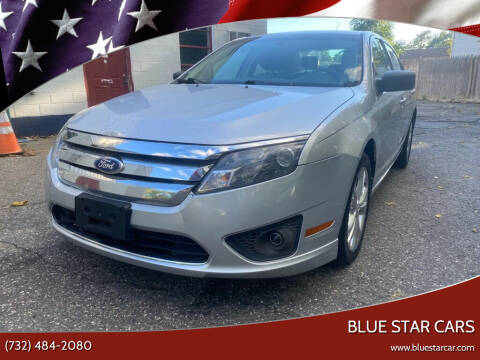 2012 Ford Fusion for sale at Blue Star Cars in Jamesburg NJ