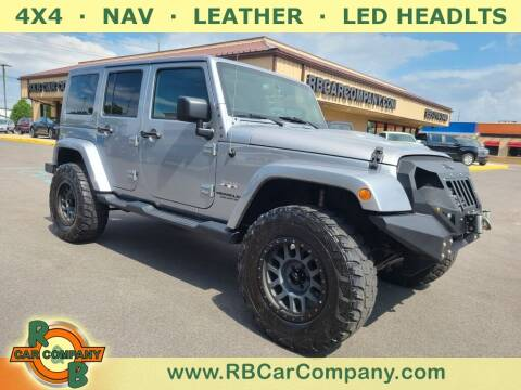 2017 Jeep Wrangler Unlimited for sale at R & B Car Company in South Bend IN