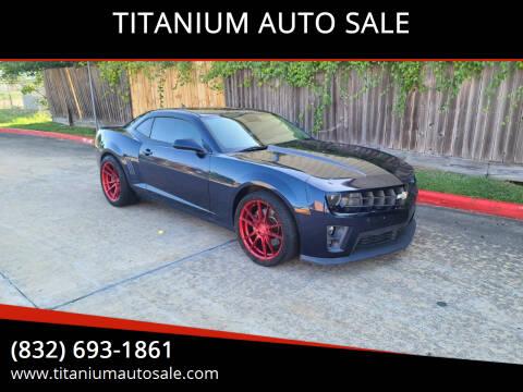 2010 Chevrolet Camaro for sale at TITANIUM AUTO SALE in Houston TX
