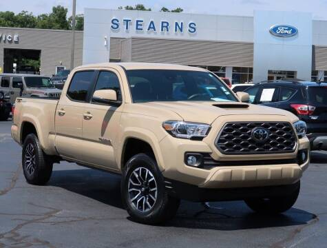 2020 Toyota Tacoma for sale at Stearns Ford in Burlington NC