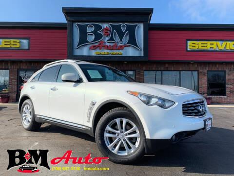 2011 Infiniti FX35 for sale at B & M Auto Sales Inc. in Oak Forest IL