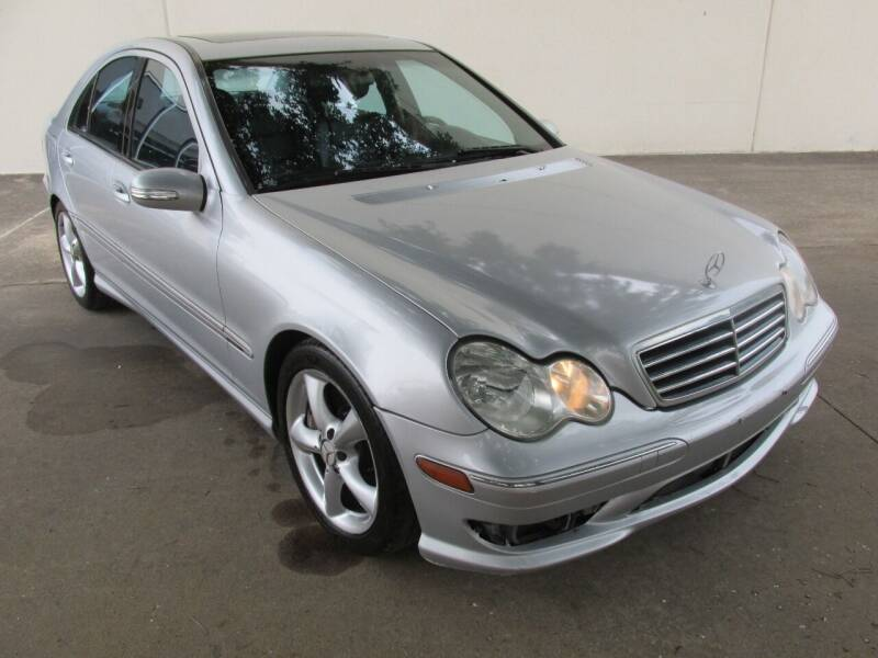 2006 Mercedes-Benz C-Class for sale at QUALITY MOTORCARS in Richmond TX
