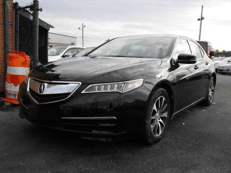 2015 Acura TLX for sale at Merrimack Motors in Lawrence MA