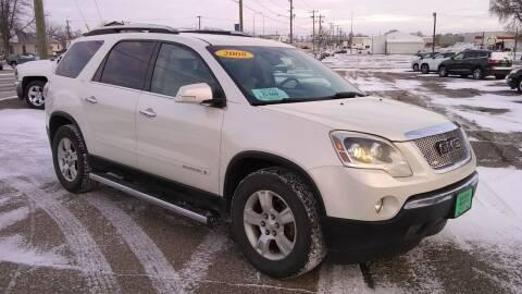 2008 GMC Acadia for sale at Unzen Motors in Milbank SD
