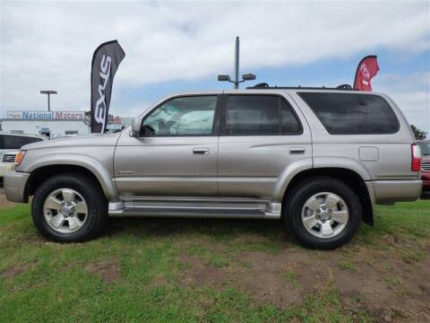 2002 Toyota 4Runner for sale at National Motors in San Diego CA