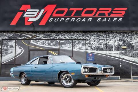 1970 Dodge Coronet for sale at BJ Motors in Tomball TX