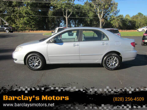 2005 Toyota Corolla for sale at Barclay's Motors in Conover NC